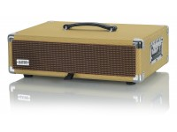 Gator GR-RETRORACK-2TW Vintage Amp Vibe Rack Case - 2U Tweed