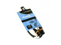 Accu-Cable AC-DMX3/1,5 DMX 3 Pinos XLR MACHO PARA FÊMEA Chumbo 1.5 Metros Especificações: Pré montado cabo 3pin DMX, 110 ohm - Comprimento: 1,5 m - 3 pinos XLR - Plugues de metal