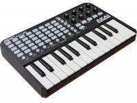 Akai APC Key 25 Akai APC Key 25 - Combinando a potência de uma matriz de 5 x 8 botões tricolor para a ativação dos clips e um teclado, o Akai 25 Key inclui as capacidades de controlo para o Ableton LIVE e...