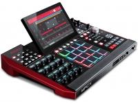 Akai MPC X Controle todos os parâmetros doAkai MPC X usando os 16 botões Q-Link totalmente habilitáveis e com capacidade de toque. Com uma tela OLED dedicada acima de cada botão de 360 (símbolo do...