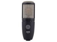 AKG P220 B-Stock Microfone de membrana grandeAKG P220 B-Stock - Microfone condensador de diafragma AKG P220 - Caixa metálica - Padrão polar cardióide
