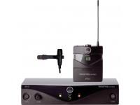 AKG PW45 Presenter  O kit de apresentador sem fio da série Perception da AKG - Frequência A / 530 - 560MHz oferece um microfone de lapela sem fio, leve e de qualidade para performances teatrais, apresentações...