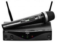 AKG WMS420 Vocal Sistemas sem fios com microfone de mãoAKG WMS420 Vocal -AKG WMS 420 Vocal Set Banda D - UHF Wireless- System - True Diversity - Até 3 frequências para