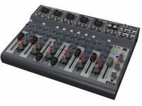 Behringer 1002B-UE Mesa de Mistura BEHRINGER 1002B-UE  mesa de mistura portátil com dois canais mono e quatro canais estéreo; alimentação por corrente elétrica ou a pilhas de 9 V; pré-amplificadores de ...