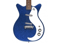 Danelectro 59M NOS+ Blue Metalflake 60th
