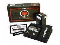 Digitech Element XP 59 Efeitos: 12 ampères, 9 alto-falantes, 38 caixas de stomp  Pedal de expressão integrado  200 Presets: 100 sons de fábrica, 100 memórias de usuário modificáveis  Biblioteca de ...