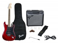 Fender Affinity Strat Pack HSS Candy Apple Red