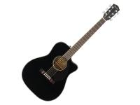 Fender CC-60SCE BLK   Apresentando um corpo pequeno, modelo concerto, corte veneziano para fácil acesso aos trastes mais agudos da escala, tampo em mogno maciço para aumentar o volume e nitidez do som, bra...
