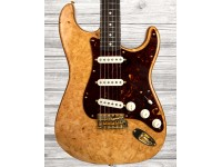 Fender Custom Shop Artisan Maple Burl Stratocaster Aged Natural