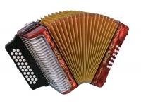 Hohner Corona III A Corona III é a concertina de 3 vozes ideal para o músico profissional que quer qualidade, som e durabilidade. O som de assinatura do Vallenato ou Merengue, este instrumento pode ser ouvido...