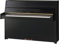 Kawai K 15 E E/P Piano   Simples, elegante e robusto, o Kawai K15 é uma fantástica introdução à gama de pianos verticais, vem equipado com o tampo de ressonância sólido em madeira Spruce, que transmite u...