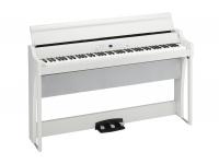 Korg G1 Air WH Com um som sem comparação e uma expressiva experiência ao tocar, o G1 define um novo padrão para o piano digital.  O som detalhado de tirar o fôlego e a pegada dinâmica do G1 oferecem...