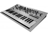 Korg Minilogue Um sintetizador analógico polifónico de ultima geração - e muito mais.    Conheça o Korg Minilogue, o elegante e inovador sintetizador analógico polifónico programável da KORG�...