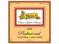 La Bella Jogo Cordas CB40 Jogo de cordas para baixo acústicoLa Bella CB40