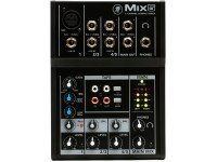 Mackie MIX5 Whether you need a small mixer for your live show or your creative work, the Mackie Mix5 proves that you don't have to give up decent sound quality, just because you need more channels or ...