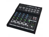 Mackie Mix8 Mackie Mix8  Mesa de mistura profissional de 5 canais, com headroom alto e rendimento de baixo ruído  2 entradas de microfone/linha com qualidade de áudio de estúdio  Panoram...