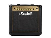 Marshall MG15GFX Design icônico Marshall  O ouro de MG15GFX Marshall 15W é um amplificador tátil prática que prociona real Marshall tonificar e parece bom. Com seu icônico 'ouro' front painel e...