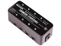 Mooer Micro Power Pedal de alimentaçãoMooer Micro Power  Caixa metálica resistente;  8x Saídas isoladas de 9VDC com 300mA máximo cada uma;  Entrada de 12VDC;  Dimensões: 93.5 x 42 x ...