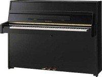 Kawai CX5 Piano Vertical Kawai CX5 - O piano vertical Kawai CX5 é um piano vertical compacto moderno que foi construído para espaços pequenos com apenas 145 cm