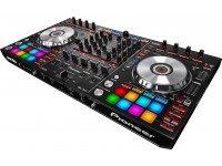 Pioneer DDJ-SX2 Pioneer DDJ-SX2 - Controlador de 4 canais Serato DJ com pads de alto desempenho, com botões dedicados para Serato Flip, 16 pads multicoloridos