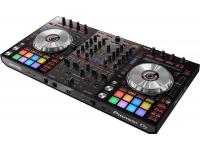 Pioneer DDJ-SX3 Já comprovado pelos antecessores, os modelos Pioneer SX e SX2 em cooperação com o software Serato DJ são sem dúvida uma referência e um dos melhores modelos controladores do mercado prof...