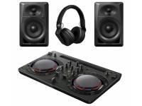 Pioneer DJ DJ STARTER PACK Deseja iniciar-se no DJing? Com o nosso novo kit inicial de DJ disporá de um único pacote que inclui todo o equipamento de DJ de que necessita para começar.    A caixa inclui um con...