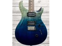 PRS SE Custom 24 Ltd 2020 - Charcoal Blue Fade