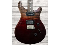 PRS SE Custom 24 Ltd 2020 - Charcoal Cherry Fade