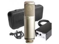 Rode K2 Rode K2  Microfone a válvulas que possui a nova cápsula HF1 de alta dinâmica.  O Røde K2 aguenta um nível de pressão sonora máximo de 162 dB, ruído inerente de apenas 10 dB...