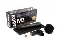 Rode M3 O Rode M3 é o microfone de condensador de entrada de gama da Røde. A este preço tão acessível, não há desculpa para não possuir um microfone decente no seu arsenal.    ORode ...