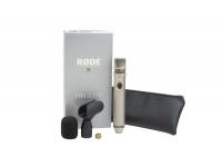 Rode NT3 O Rode NT3 é um microfone com uma robustez e sensibilidade capaz de envergonhar muitos microfones que custam o dobro do preço.    Possui botão de ON/OFF para evitar gastos de bat...