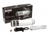 Rode Podcaster Rode Podcaster    Microfone dinâmico de alta qualidade, especialmente talhado para gravação vocal.     Possui um interface USB com instalação verdadeiramente plug-an...