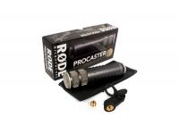 Rode Procaster Rode procaster    Rode Procaster é um microfone robusto e com uma excelente rejeição de som ambiente.    Possui uma cápsula dinâmica de grande saída, uma sa...