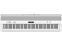 Roland FP-90 WH Piano portátil desenvolvido para desempenho de excelência e criatividade sem fronteiras    Se toca piano, compreende que a inspiração pode surgir de qualquer lado – onde toca, co...