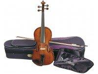 Stentor SR1500 Student II 1/4 Violino Stentor Student Tamanho 1/4 - Os violinos Student são de fabrico manual, em madeiras acústicas sólidas. Cravelhas e escala em pau-rosa.