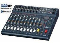 Studiomaster Club XS 12 Studiomaster Mesa Mistura CLUBXS 12 - 12 Canais: 8x preamp de micro, 2x Linha Stereo; HPF, Compressor, EQ de 3 bandas, Auxiliar send e FX para cada canal de mi