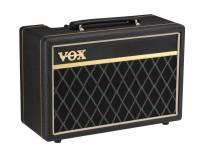 Vox  10B O Vox clássico aparece em um amplificador de baixo compacto com tom versátil.  Do pano da grade de diamante e do envoltório de vinil de tecer de cesta para os botões vintage de cabeça ...