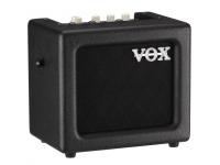 Vox  Mini 3 G2 BK Sempre em movimento? Com o seu design leve e incrível qualidade de som, o MINI3 G2 é o amplificador grab and go perfeito. Alimentado por seis baterias AA, ou o adaptador incluído, o MINI3 G...