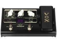 Vox StompLab IIG O Vox StompLab IIG é um pedal de efeitos múltiplos que possui a tecnologia VT+ amp modelling da VOX e um pedal de expressão para mais controlo nos efeitos e volume.. OVox StompLab IIGé...