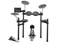 Yamaha DTX432K E-Drum Set Yamaha DTX432K E-Drum Set  Conjunto de Tambores Elétricos  Com o módulo de bateria DTX402  287 sons  10 kits de usuário  Metrônomo  10 programas de coaching  Fone de o...