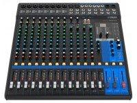 """Yamaha MG-16XU Pré-amplificadores de microfone """"D-PRE"""" com o circuito Darlington invertido    1-Potenciometro para o compressor    Efeitos de alta qualidade: SPX com 24 programas ..."""