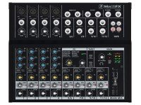 Mackie MIX12FX Mesa de mistura Mackie MIX12FX - 12 Channel Compact-Mixing Console - Internal Effects - 4 Mic/Line Inputs with 3Band-EQ and Phantom-Power