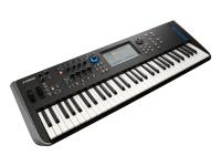 Yamaha MODX6 Para os amantes de sintetizadores que precisam de capacidades únicas de edição sonora, o MODX é um sintetizador com um motor sonoro FM-X