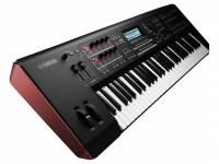 Yamaha MOXF 6 A nova série MOXF combina o gerador de sons do MOTIX XF e a possibilidade de expansão por memória Flash, com um teclado controlador MIDI com elevada capacidade