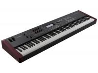 Yamaha MOXF 8 Yamaha MOXF 8  Teclado GHS de 88 teclas.  1.217 Voices e 355 MB de formas de onda retirados do MOTIF XS.  Sistema de geração de timbres XA (articulação expandida).  Mai...
