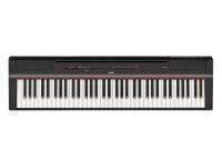 Yamaha P-121 BK O Teu Piano Pessoal  O Yamaha P-121 é um piano digital compacto com 73 teclas que permite uma performance de piano incrível com um design minimalista de fácil utilização.    Fa...