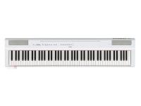 Yamaha P-125WH OYamaha P-125 WHé um piano digital compacto que combina a performance de um piano com um design sóbrio e minimalista. Fácil de transportar e muito acessível, este é um piano que propo...