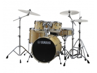 Bateria acústica Yamaha Stage Custom Birch SBP2F5 Natural Wood com Hardware sem Pratos