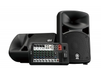Yamaha STAGEPAS 400BT Os novos STAGEPASS 400BT e 600BT estão equipados com tudo o que é essencial para ter um som de qualidade, quer seja para cantores, salas de ensaio e/ou para conferências e palestras. Os nov...