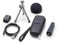 Zoom APH-1n Zoom APH-1n - acessórios adicionais para o H1n. O pacote inclui windscreen, adaptador de clipe de microfone, tripé de mesa ajustável, estojo flexível, adaptador AC (tipo USB) e cabo USB. ...